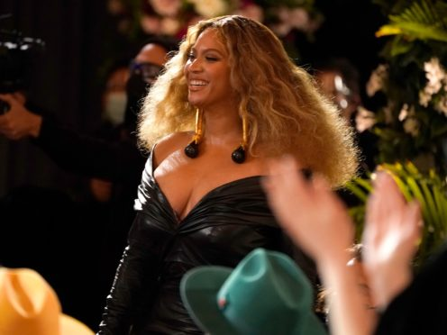 Beyonce made history as she became the most decorated female at the Grammy Awards (AP Photo/Chris Pizzello)