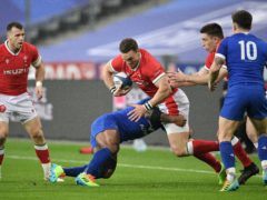 Wales missed the chance to clinch a grand slam in their defeat in France (David Niviere/PA)