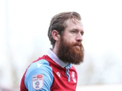 Kevin Van Veen is a doubt for Scunthorpe's match with Bradford (Isaac Parkin/PA)