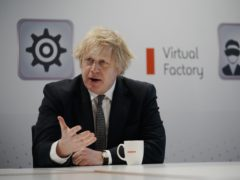 Prime Minister Boris Johnson gave the warning during a visit to BAE Systems in Lancashire on Monday (Christopher Furlong/PA)