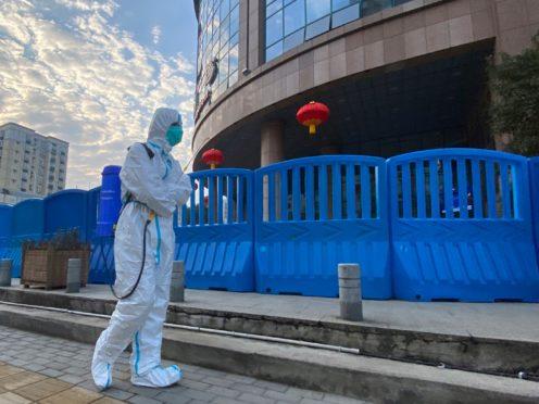 Wuhan Central Hospital (AP Photo/Ng Han Guan, FILE)