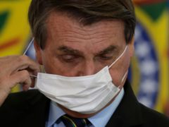 Brazil's President Jair Bolsonaro has replaced his defence minister in a move which has caused apprehension among political analysts in the former military-controlled country (Eraldo Peres/AP)