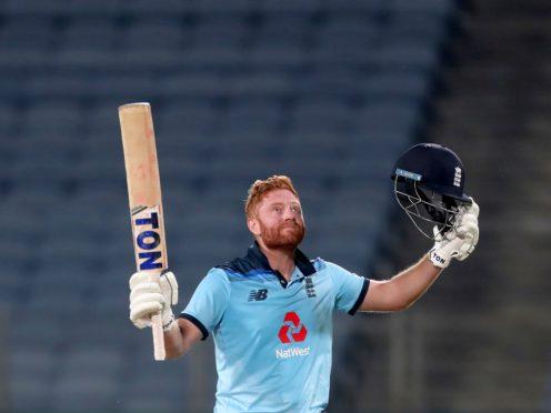 Jonny Bairstow struck a ton for England (Rafiq Maqbool/AP)
