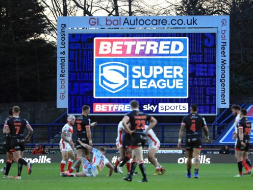 St Helens claimed a convincing Super League victory over Salford on Friday night (Mike Egerton/PA)
