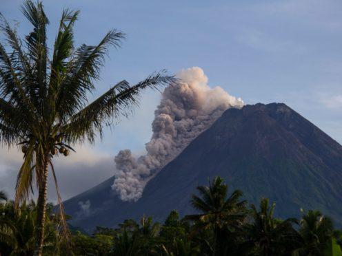 Mount Merapi (AP)