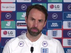 Gareth Southgate's side face Albania on Sunday (PA)