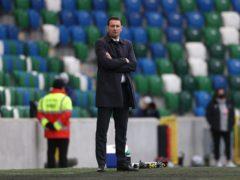 Ian Baraclough saw his Northern Ireland side beaten again (Liam McBunney/PA)