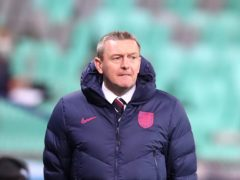 England Under-21s manager Aidy Boothroyd is out of contract in the summer (Luka Stanzl/PA)