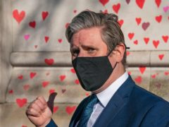 Labour Party leader Keir Starmer said the question of whether to introduce vaccine passports is very difficult (Aaron Chown/PA)