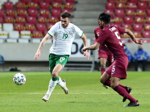 Ipswich are waiting on Troy Parrott (left) after his international duty with the Republic of Ireland in midweek (Trenka Attila/PA)