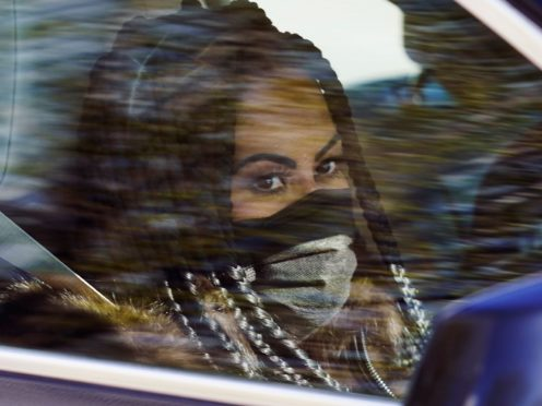 Jennifer Shah, a cast member from the reality series The Real Housewives of Salt Lake City, is driven from the federal courthouse in Salt Lake City on Tuesday (Rick Bowmer/AP)