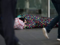 The Salvation Army has published a new report on homelessness in Scotland (Nick Ansell/PA)
