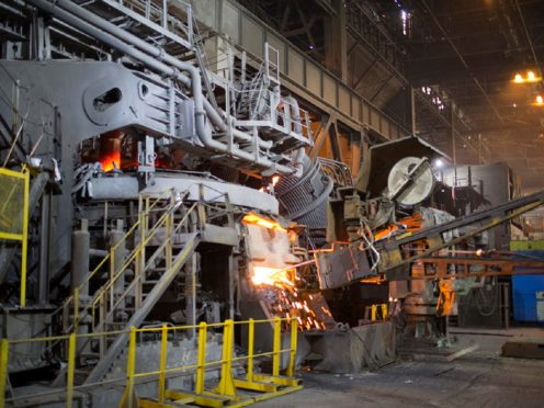 Liberty Steel has asked the Government for £170m in financial support (Steve Morgan/Liberty House/PA)