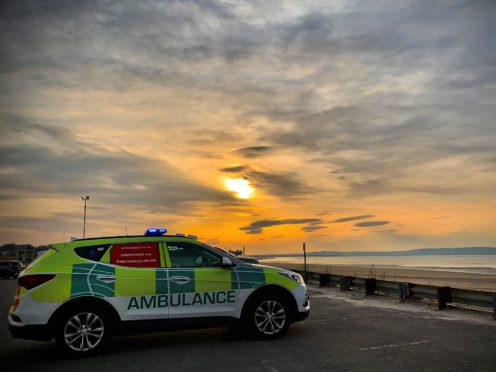 There will be three mental health cars available for the east, west and the north (Scottish Ambulance Service/PA)