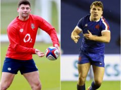 Ben Youngs (left) and Antoine Dupont go head-to-head at Twickenham on Saturday (Dave Rogers/Ian Rutherford/PA)