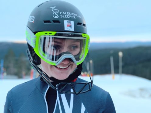 Charlie Guest is determined to shrug off a diagnosis of rheumatoid arthritis (GB Snowsport)