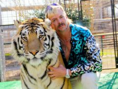 The husband of Tiger King star Joe Exotic said he and the jailed zookeeper are 'seeking a divorce' (Netflix/PA)