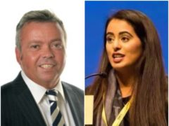 Kenneth Stevenson and Anum Qaisar-Javed will contest the seat.(PA)