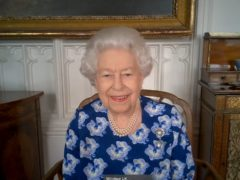 The Queen holds a video call to celebrate volunteers (Buckingham Palace/PA)
