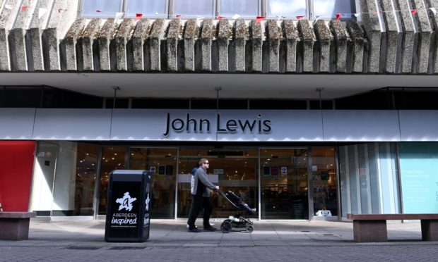 Save Our Stores: John Lewis is a big draw in attracting students to Aberdeen