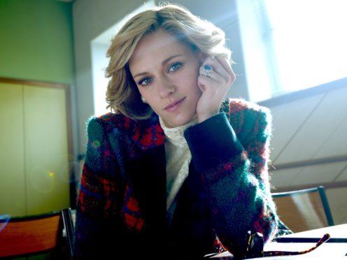 Kristen Stewart as Diana, Princess of Wales (NEON/PA)