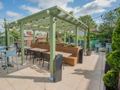 Wetherspoon is to open beer gardens, rooftop gardens and patios at 394 of its pubs in England when the lockdown continues to ease from April 12 (Wetherspoon/PA)