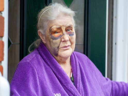 Ida Brown has thanked the public for their support after she was attacked by thieves outside her back door (Northumbria Police/PA)