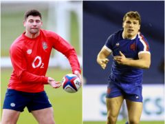 Ben Youngs, left, rates Antoine Dupont as the best scrum-half in the game (PA)