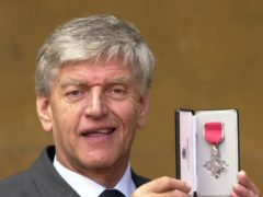 Dave Prowse with his MBE (John Stillwell/PA)