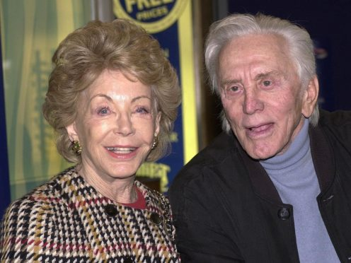 Anne Douglas, the wife of late Hollywood great Kirk Douglas, has died aged 102, the family said (Tim Ockenden/PA)