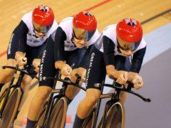 Great Britain's Dani King, Laura Trott and Joanna Rowsell enjoyed a prolific combination (Tim Ireland/PA)