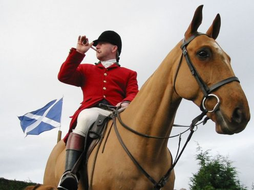 The Scottish Greens have renewed their calls for fox hunting loopholes to be closed (Owen Humphreys/PA)