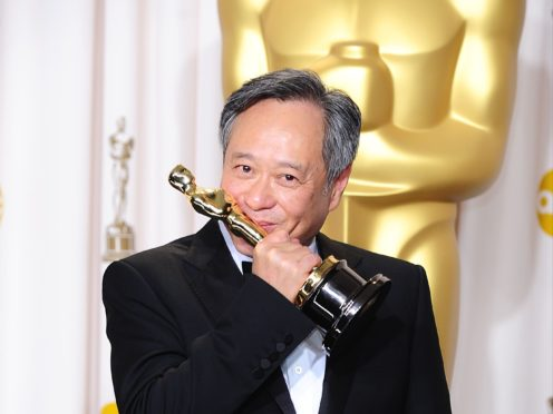 Ang Lee with his Oscar for best director (Ian West/PA)