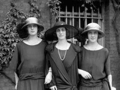 Lady Louise Mountbatten with the Duke of Edinburgh's sisters Princess Theodora of Greece and Princess Margarita of Greece (PA)