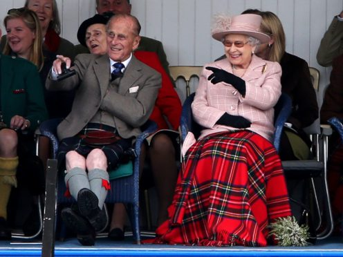 The Queen and Duke of Edinburgh at the Braemar Gathering (Andrew Milligan/PA)