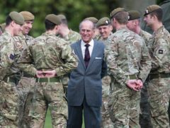 The Duke of Edinburgh's funeral will feature elements of the military with which he was closely associated (Paul Grover/PA)