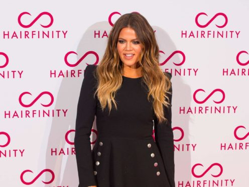 Khloe Kardashian has defended her right to edit pictures of herself after an unfiltered snap was mistakenly shared online (Dominic Lipinski/PA)