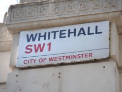Whitehall departments have been told to notify the head of the Civil Service of any senior officials with outside jobs (Lauren Hurley/PA)