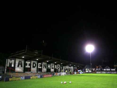 Maidenhead were beaten at home by Eastleigh (Nigel French/PA)