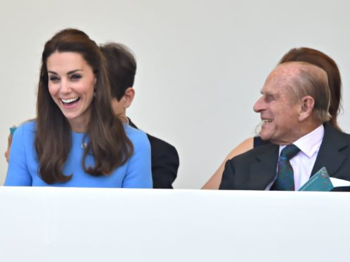 The Duke of Cambridge has expressed his gratitude for his grandfather's 'kindness' towards Kate (Dominic Lipinski/PA)