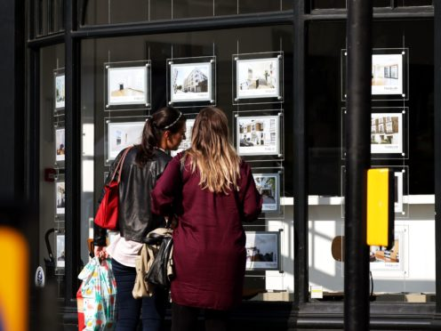 First-time buyers are saving more than £800 a year compared with if they were renting typically, Halifax said (Yui Mok/PA)