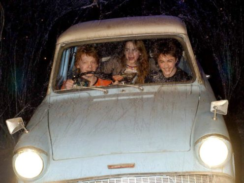 The stolen vehicle was a replica of the Weasleys' Ford Anglia from the Harry Potter movies (Yiu Mok/PA)