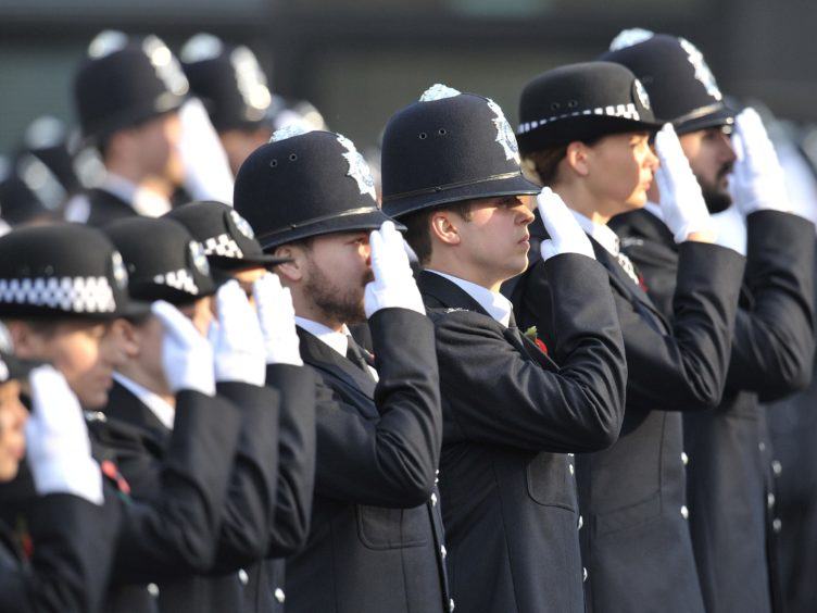 Ministers pledged to hire 20,000 new police officers by March 2023 (Nick Ansell/PA)
