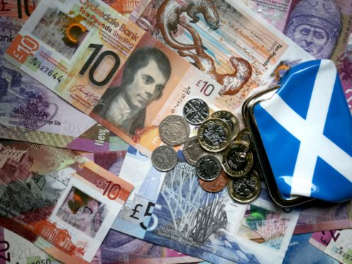 The report notes GDP per capita in Scotland is lower than in Denmark or Norway (Jane Barlow/PA)