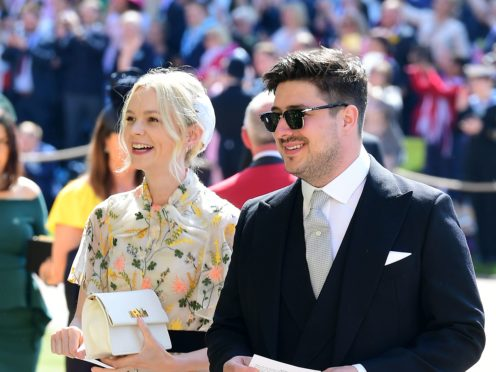 Carey Mulligan was joined by singer husband Marcus Mumford during her hosting slot on US sketch show Saturday Night Live (Ian West/PA)