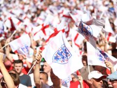 Fans will be able to attend England's games (Tim Goode/PA)