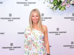 Gwyneth Paltrow shared a rare picture of son Moses as she wished him a happy 15th birthday (Ian West/PA)