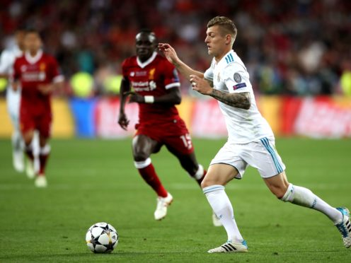 Liverpool and Real Madrid will come up against each other once again on Tuesday night (Nick Potts/PA)
