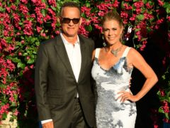 Tom Hanks and Rita Wilson (Ian West/PA)