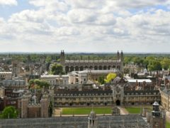 Researchers examined the remains of 143 skeletons from six medieval cemeteries in and around Cambridge (Joe Giddens/PA)